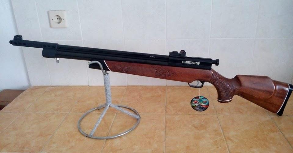 GUNS AND HOBBIES: SENAPAN PCP SHARP TIGER LONG TRUGLO