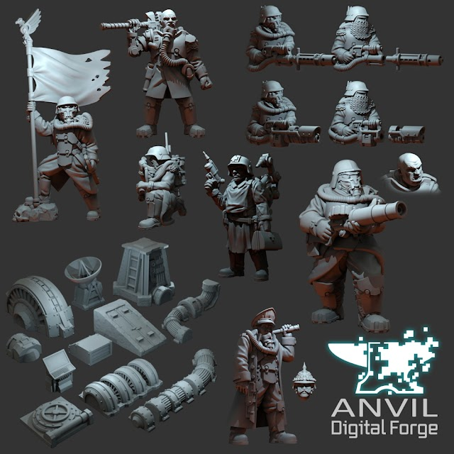 Anvil Digital Forge May Releases- Until May 31st