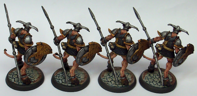 Nova Aetas Primaevi Miniatures Painted Faun Warrior