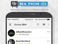 BBM iPhone iOS v2.13.1.14 apk