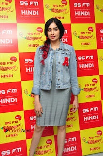 Vidyut Jamwal Adah Sharma Commando 2 Movie Team at Radio Mirchi 95  0021.jpg
