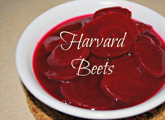 My grandma's recipe for delicious sweet and sour beets. If you're not a beet-lover, you will be after trying this dish!