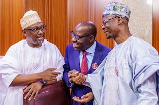 President Buhari Meets APC Govs In Abuja (Photo)