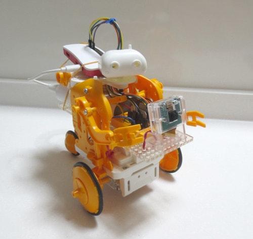 Raspberry Pi Zero WH ロボットと遊ぼう