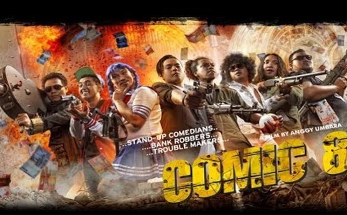 Review Film Comic 8