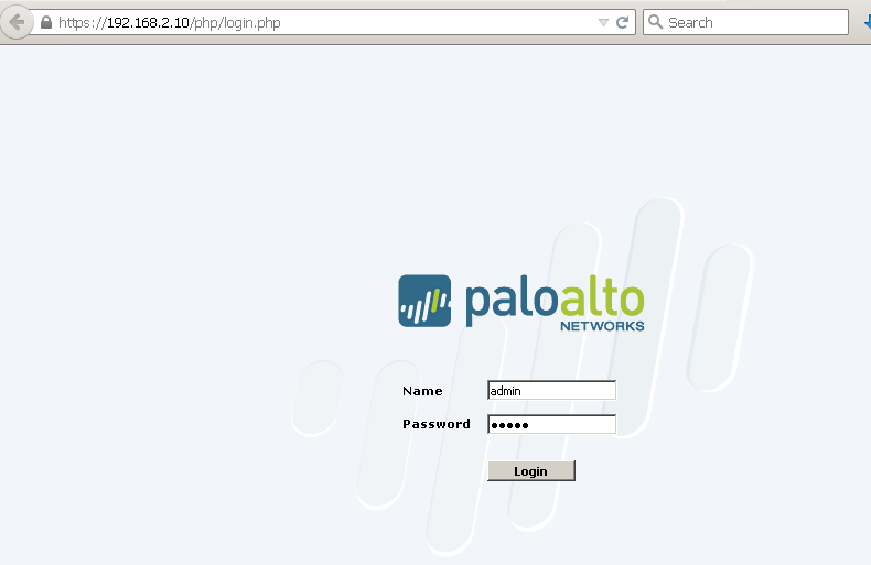 Install and Configure Palo Alto VM in Vmware Workstation