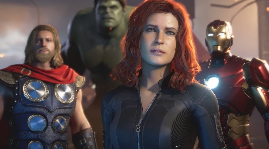 marvel avengers game thor black widow iron man hulk