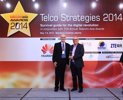 Globe Telecom acclaimed Best Telecom Carrier in Asia