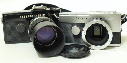 Olympus Pen Half-Frame Cameras