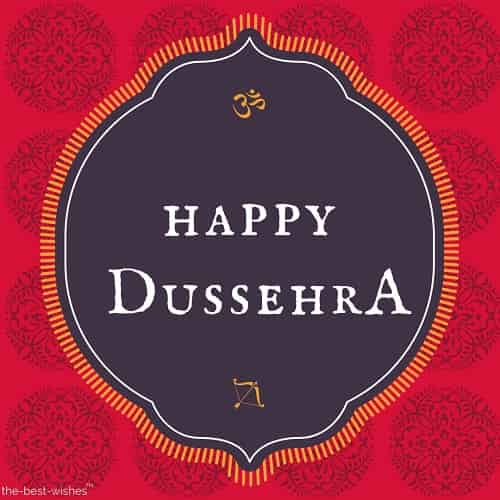 happy dussehra pic art