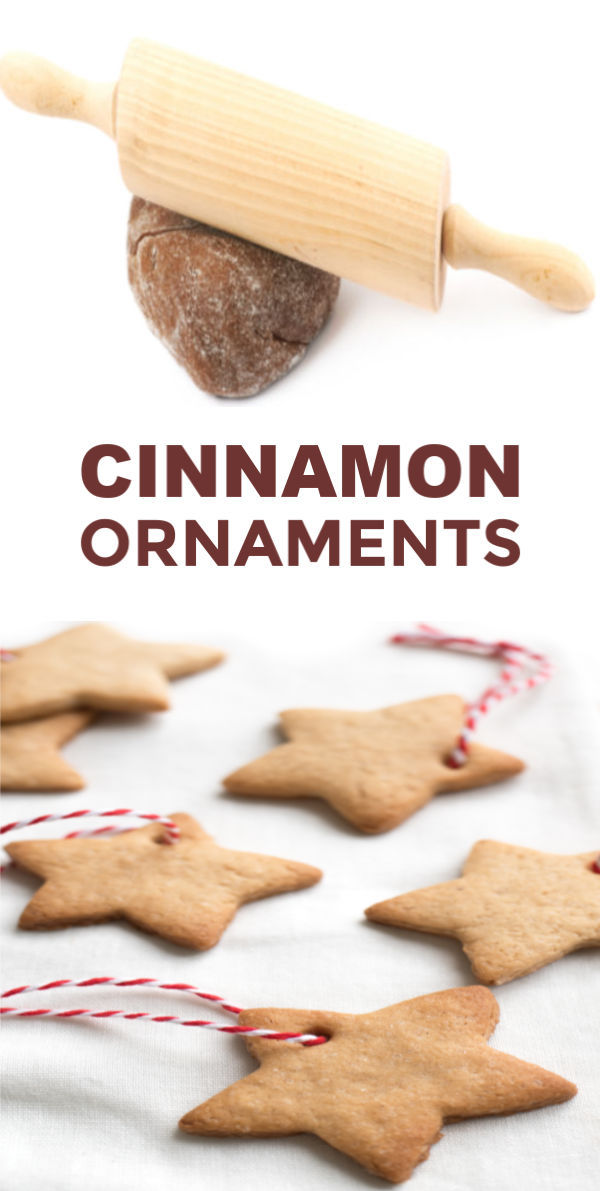 Make cinnamon ornaments for the Christmas tree using this easy, no cook recipe!  This clay dough is made without applesauce and uses just 3 ingredients! #cinnamonornamentrecipe #cinnamonornamentseasy #cinnamonornamentsnobake #ornaments #ornamentsdiychristmas #ornamentscrafts #ornamentclayrecipe #nocookcinnamonornaments #cinnamonsaltdough #christmascraftsforkids #growingajeweledrose #activitiesforkids