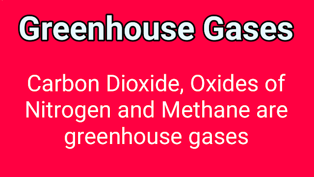 what are greenhouse gasses