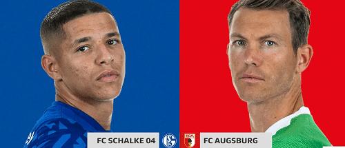 Schalke 04 vs AugsBurg MyTeam11 and Dream11 Team Bundesliga 2019/20