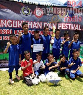 PS OKI U-12  Juara Turnamen FOSSBI Lahat CUP 1 2017