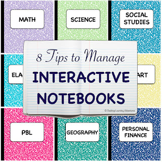 Tips for setting up interactive notebooks in the classroom.