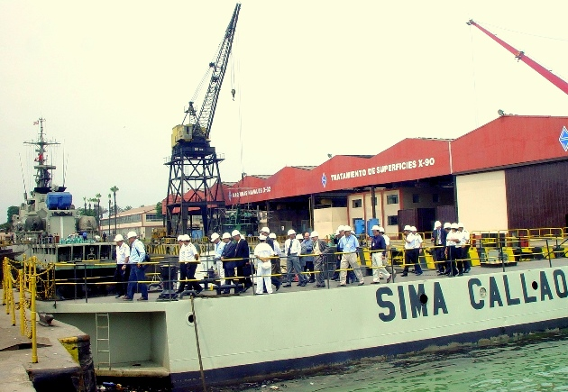 Exportaciones del per sima astillero naval peruano for Arquitectura naval e ingenieria maritima