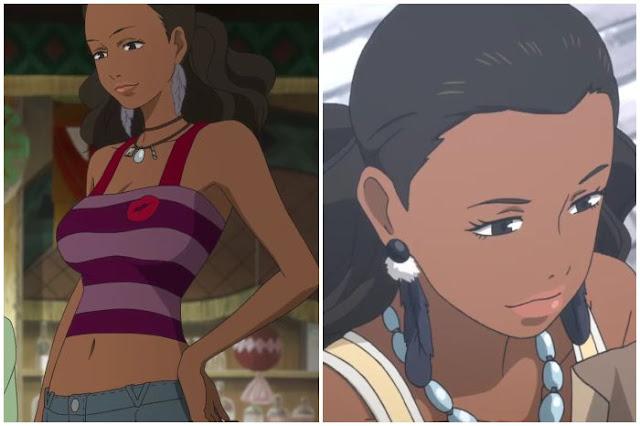 black girl anime characters