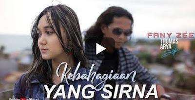 Lirik Lagu Pof Malaysia Thomas Arya Feat Fany Zee - Kebahagiaan Yang Sirna