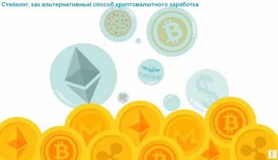 Стейкинг, как альтернативный способ криптовалютного заработка