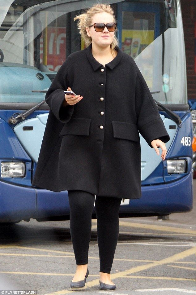 Hello Celebrity Every Little Helps Adele Stocks Up On