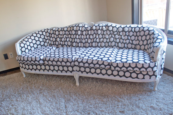 Reupholstering A Vintage Sofa