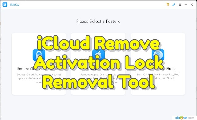 Download iCloud Bypass Activation Lock Removal Tool