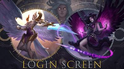 Login Screen League of Legends