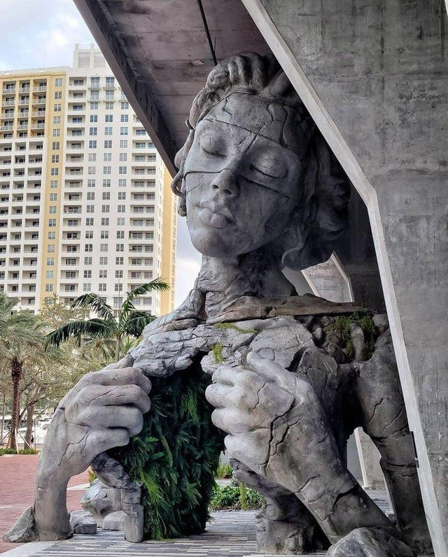 "The work of art Daniel Popper called ""Prosperity"", and installed in Florida"