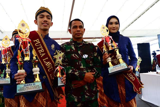 KodimKaranganyar – Grand Final Pemilihan Putra Putri Lawu Kabupaten Karanganyar Tahun 2020