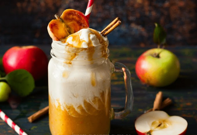 Apple Cider Floats #drinks #fall