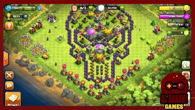 تحميل لعبة كلاش اوف كلانس clash of clans mod للاندرويد مهكرة 2020 من ميديا فاير