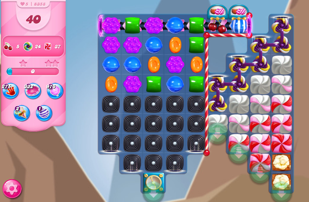 Candy Crush Saga level 8358