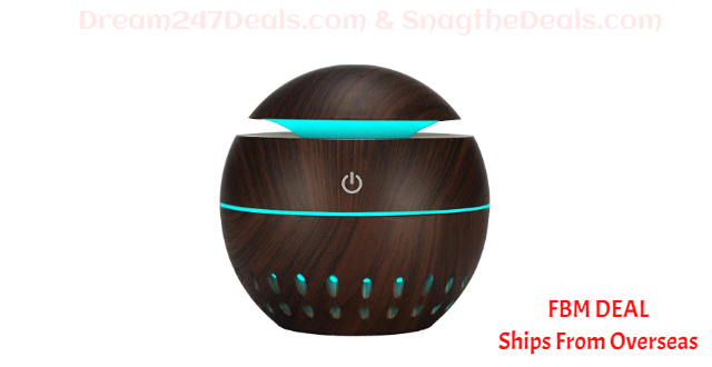 80%  off USB Aroma Essential Oil Diffuser Mist Humidifier