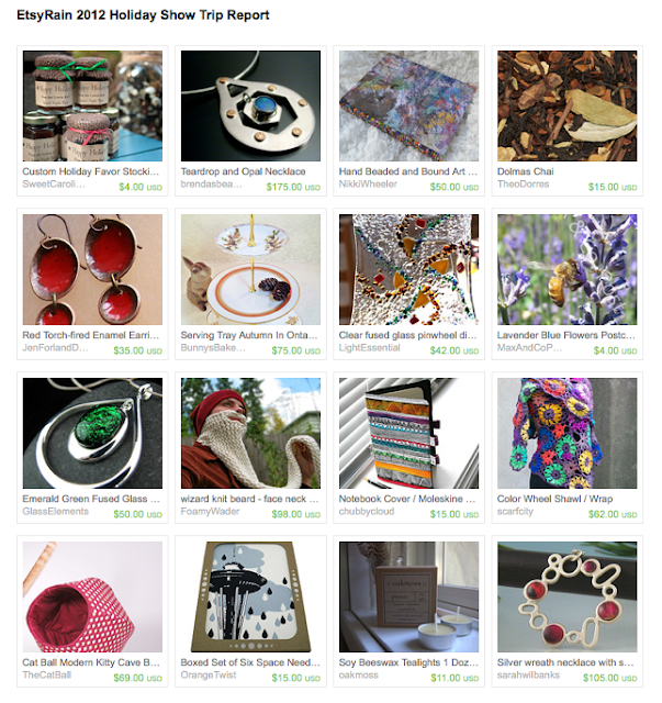 Etsy Treasury featuring items from EtsyRain artisans