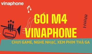 Gói cước M4 Vinaphone