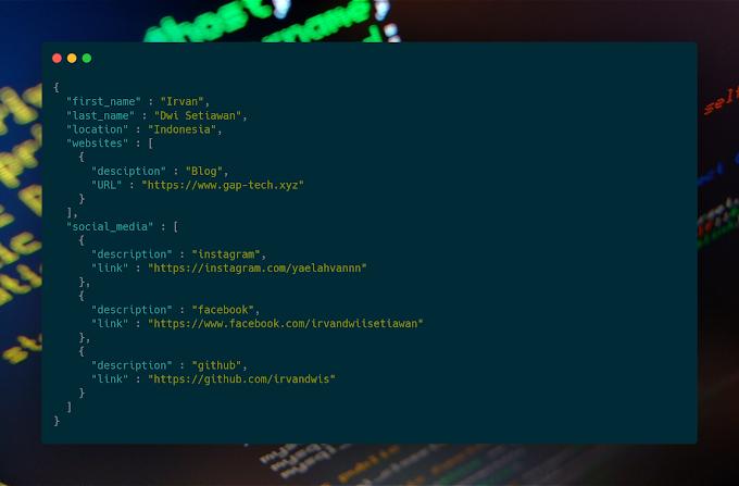 Cara Mudah Parsing Data JSON Dengan Menggunakan PHP