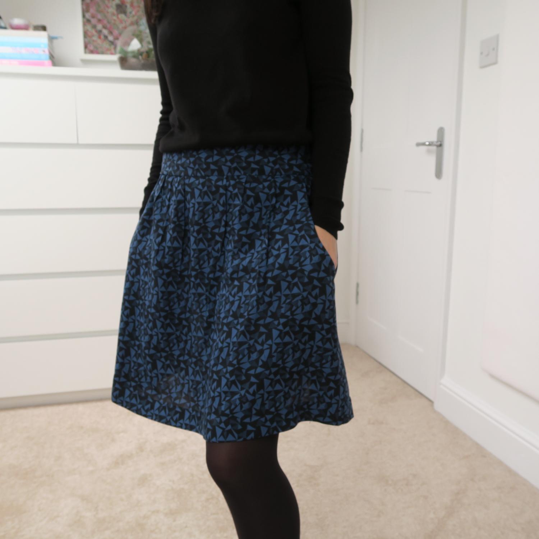 7d8c3cd4d9bcd An Atelier Brunette Facet Skirt | Flossie Teacakes | Bloglovin'