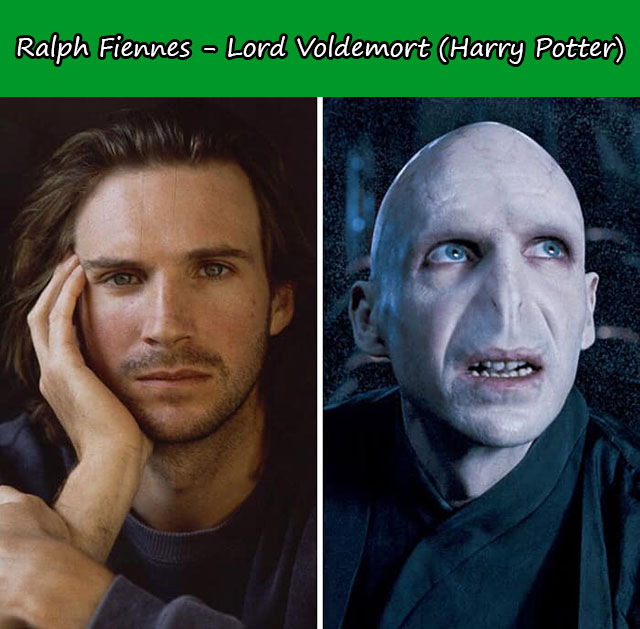 Ralph Fiennes - Lord Voldemort (Harry Potter)
