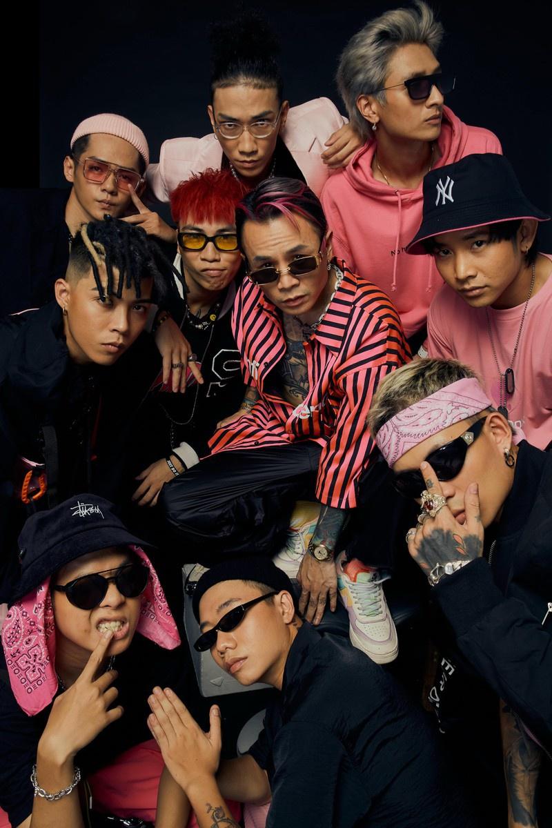 Đội Binz mạnh nhất Rap Việt?