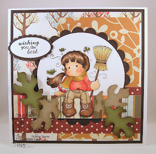 Autumn Tilda with Broom Card Kit