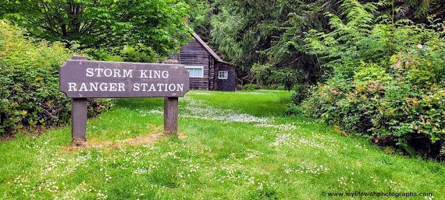 Storm King Ranger Station Cabin