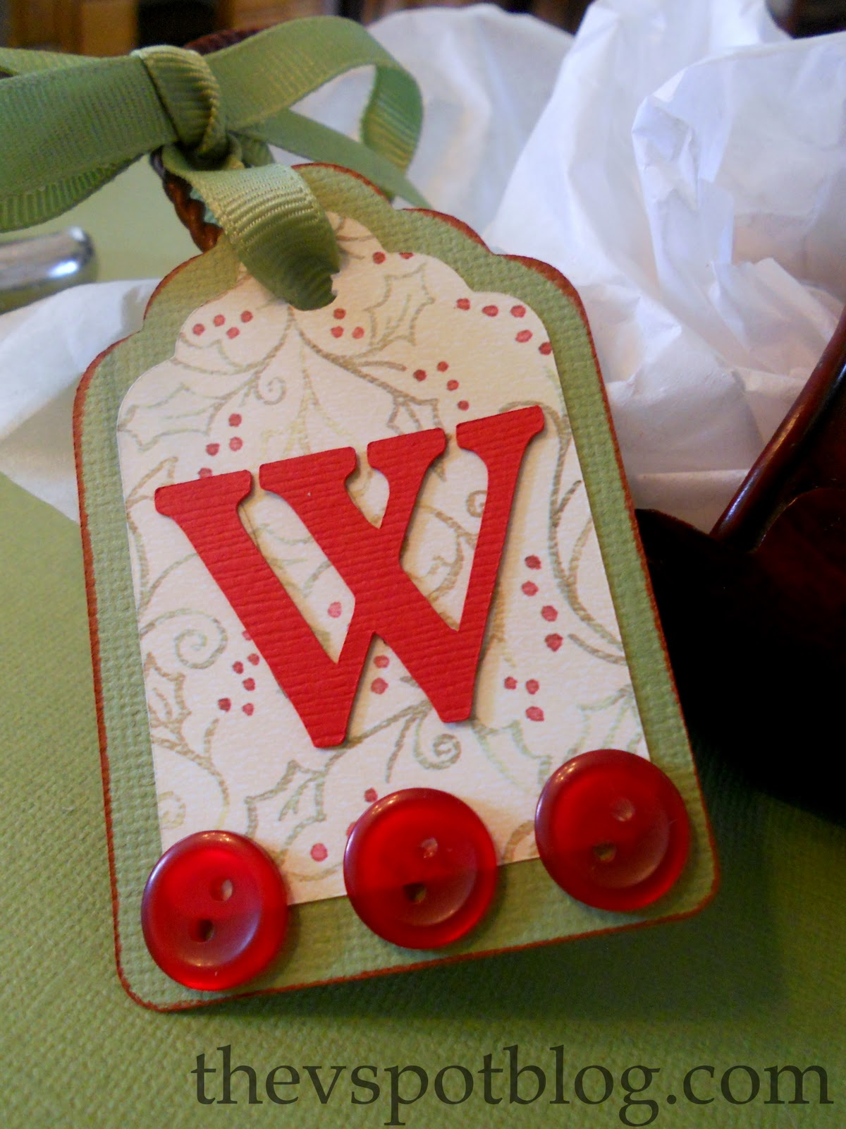 Paper Projects: Homemade Gift Tags | The V Spot