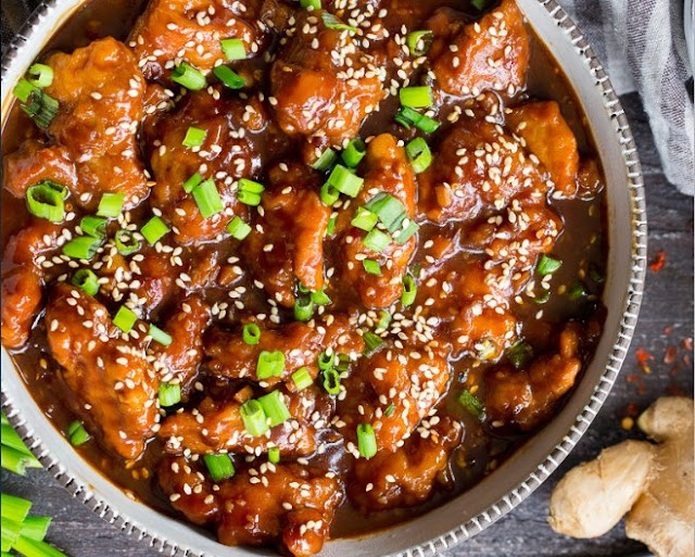 Paleo General Tso's Chicken #healthy #paleo