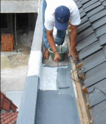 Jenis talang air beton