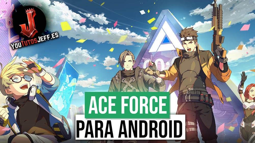 Nuevo Apex Legends? Descargar Ace Force Android