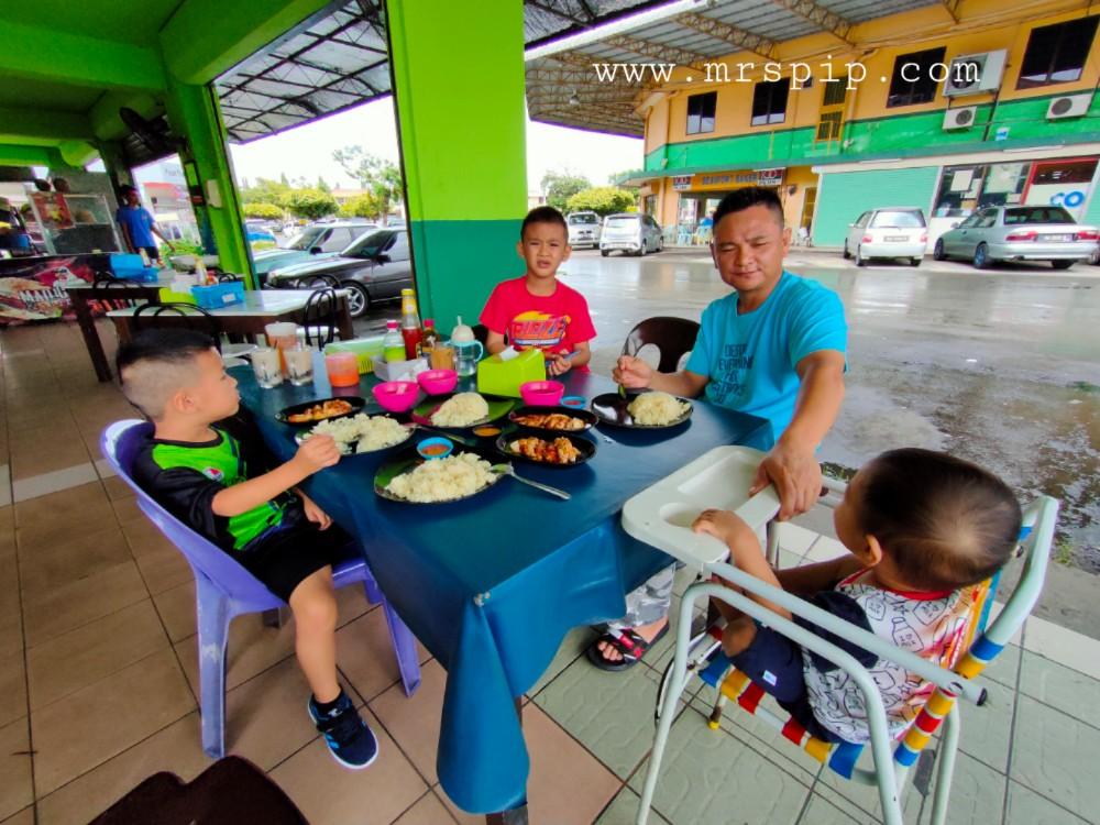Sedapnya nasi ayam di Restoran 1 Malaysia Beaufort
