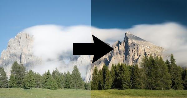 How to Use Color Range Masks in Lightroom to Create Deep Blue Skies