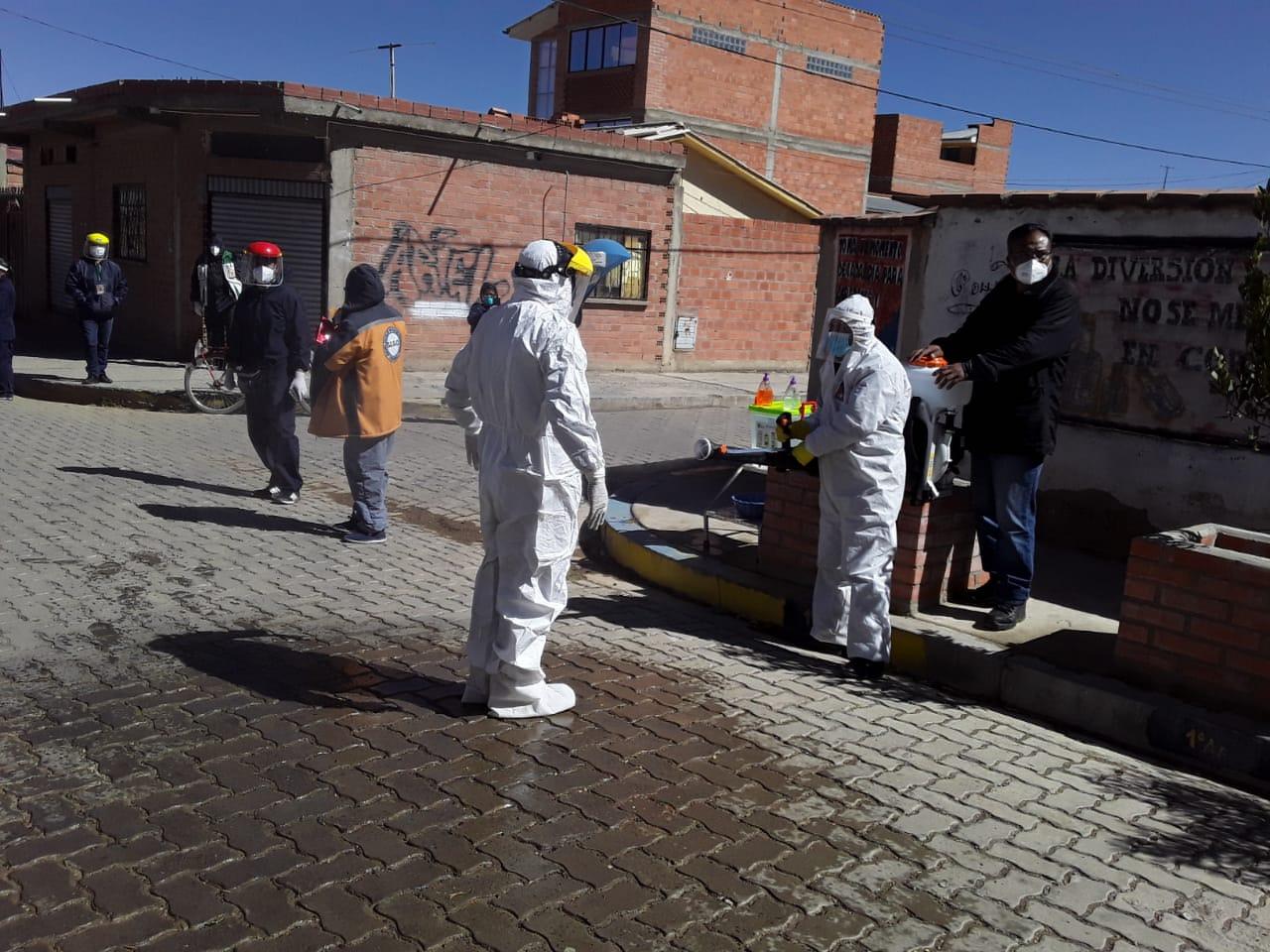 Labor conjunta del SEDES de la Gobernación paceña y la Alcaldía de El Alto / GADLP