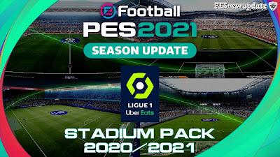 PES 2021 FULL Ligue 1 Stadium Pack 2020/2021