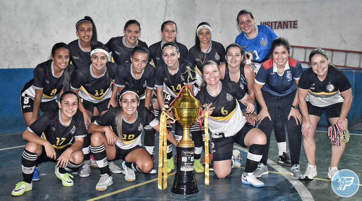 Meninas do Lausanne/CTC Vila Ema são campeãs da Copa Brás Feminino
